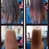 Восстановление и выравнивание волос кератином